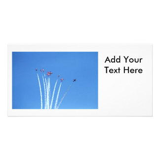 Canadian Snowbirds Planes Card