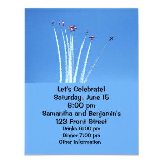 Canadian Snowbirds Planes Card