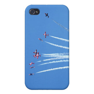 Canadian Snowbirds Planes Cover For iPhone 4