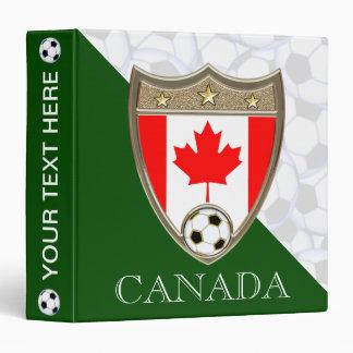 "Canadian Soccer 1.5"" Binders"