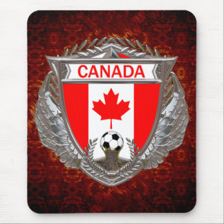 Canadian Soccer Team Mouse Pad