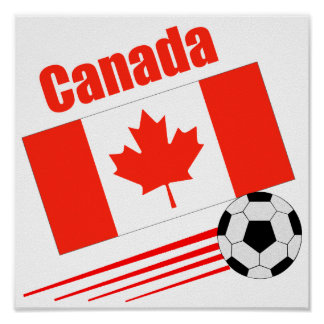 Canadian Soccer Team Poster