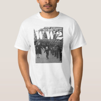Canadian Soldiers off to WW2 T-Shirt