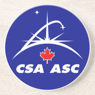 Canadian Space Agency Logo Coasters