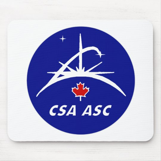 Canadian Space Agency Logo Mouse Pad