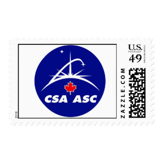 Canadian Space Agency Postage