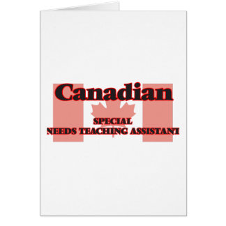 Canadian Special Agent Greeting Card