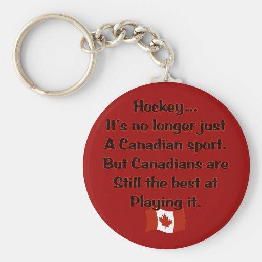 Canadian Sport Keychain