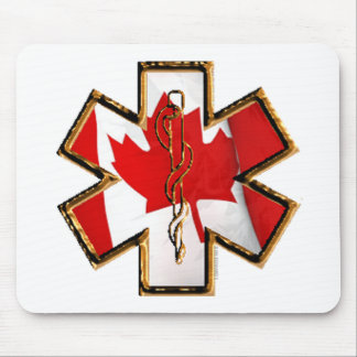 Canadian Star Of Life Mouse Pad