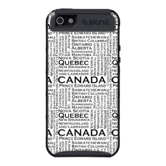 Canadian States & Cities iPhone 5 Covers