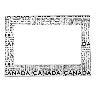 Canadian States & Cities Magnetic Frame