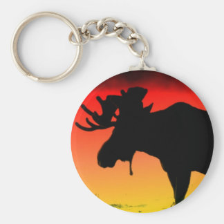 Canadian Sunset Keychain