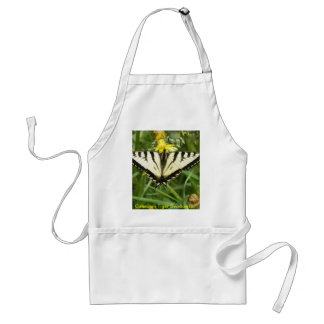 Canadian Tiger Swallowtail Butterfly Adult Apron
