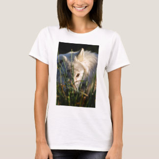 Canadian Timber Wolf  Tee Shirt Fitted