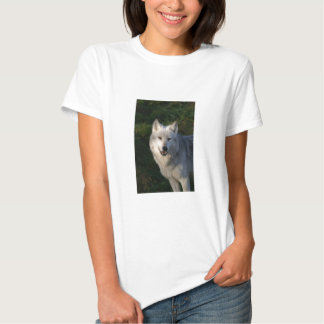 Canadian Timber Wolf Womens Fitted Tee Shirt