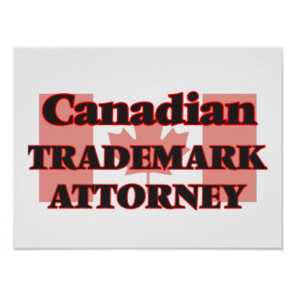 Canadian Trademark Attorney Poster