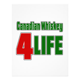 Canadian Whiskey 4 Life Letterhead
