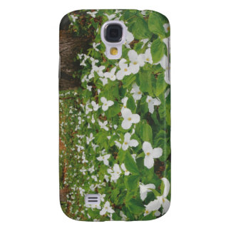 CANADIAN Wild WHITE Flowers - Lowprice GIFTS Galaxy S4 Covers