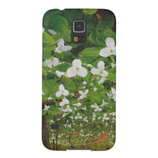 CANADIAN Wild WHITE Flowers - Lowprice GIFTS Galaxy S5 Cover