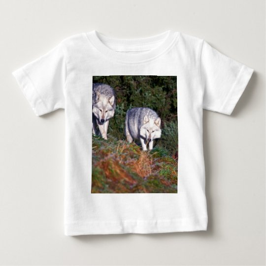 Canadian Wolves in the Wild Infant Tee Shirt