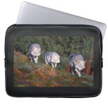 Canadian Wolves in the Wild Laptop Sleeve 13""