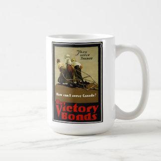Canadian WW1  Propaganda Poster on Mug