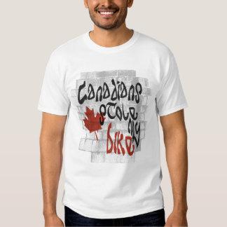 Canadians Stole My Bike Shirt