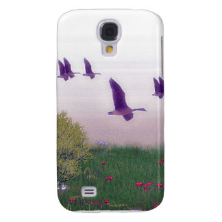 canadiean geese samsung galaxy s4 cover
