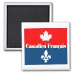 Canadien Francais 2 Imán Cuadrado