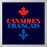 Canadien Francais 3 Posters