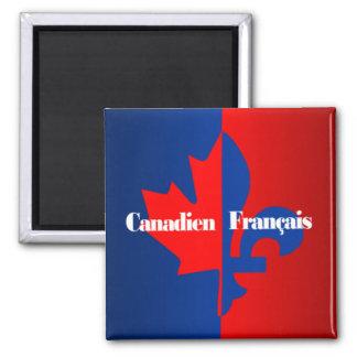 Canadien Francais Magnet