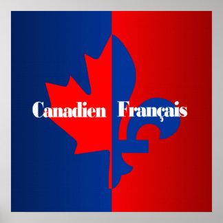 Canadien Francais Póster