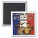 Canadiens Francais Fridge Magnet