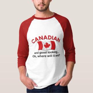 Canadiense apuesto playera