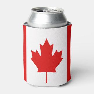Canadiense de la bandera de la hoja de arce de enfriador de latas