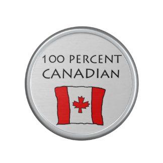 Canadiense del 100 por ciento altavoz bluetooth