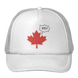 Canadiense divertido gorras de camionero