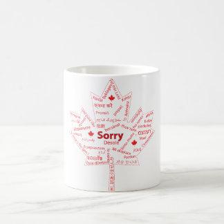 Canadiense esencial taza básica blanca