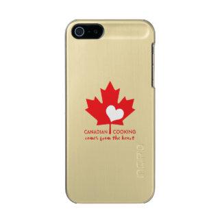 Canadiense Foodie Funda Para iPhone 5 Incipio Feather Shine