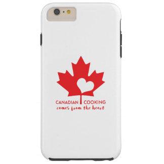 Canadiense Foodie Funda Resistente iPhone 6 Plus