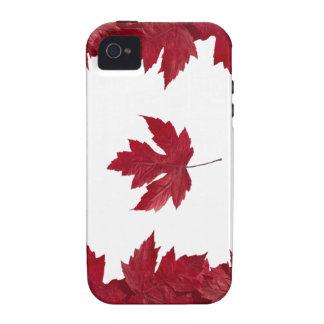 Canadiense Case-Mate iPhone 4 Fundas