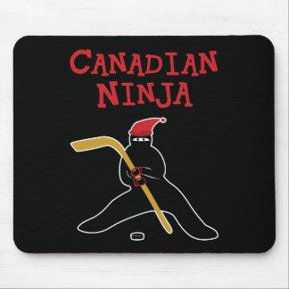 Canadiense Ninja Alfombrilla De Raton
