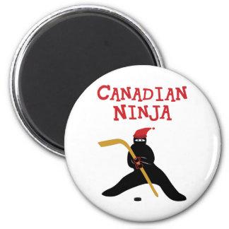 Canadiense Ninja Imán Redondo 5 Cm