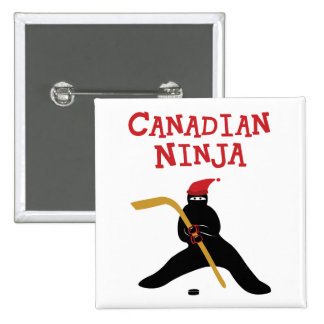 Canadiense Ninja Pin Cuadrado