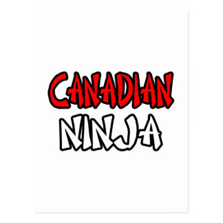 Canadiense Ninja Postal