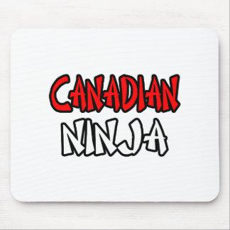 Canadiense Ninja Tapete De Ratón