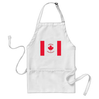 Canadiense orgulloso delantal
