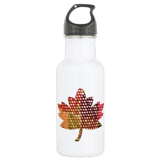 CANADIENSE orgulloso:  Diseño artístico de la hoja
