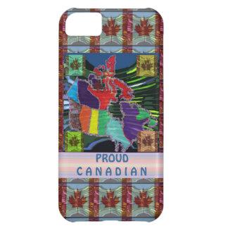 Canadiense orgulloso funda para iPhone 5C