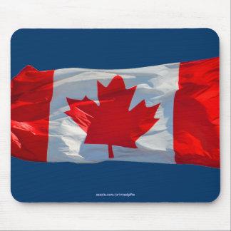 Canadiense patriótico Mousepad de la BANDERA de CA